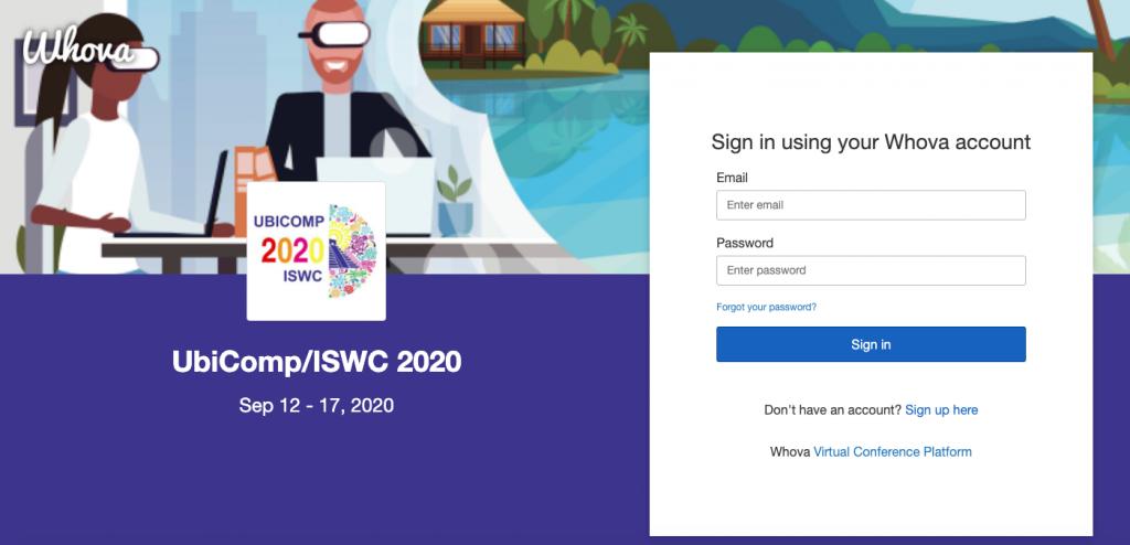 UbiComp/ISWC Whova Web App
